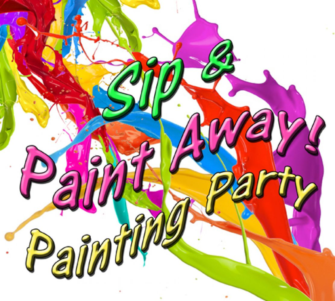 Sip paint with lynette for Sip and paint