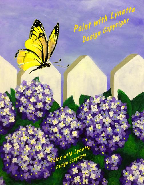 Hydrangeas&Butterflies (1)