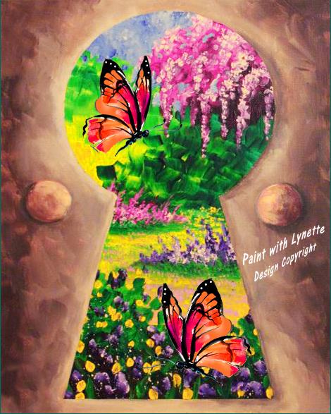 Secret Butterfly Garden