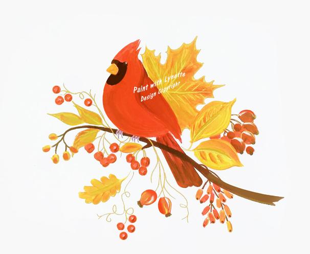 Autumn Cardinal - final 3