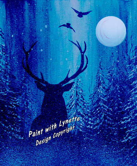 Blue Moon Deer - Copy