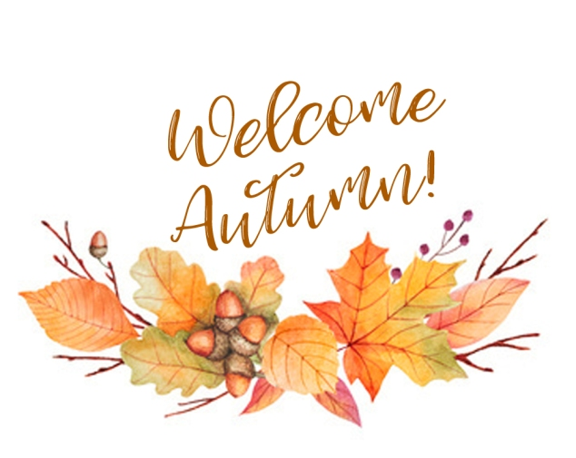 Welcome Autumn leaves