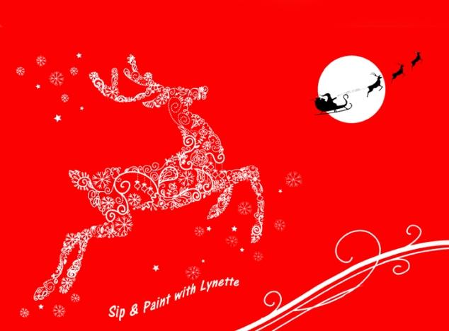 reindeer-on-red