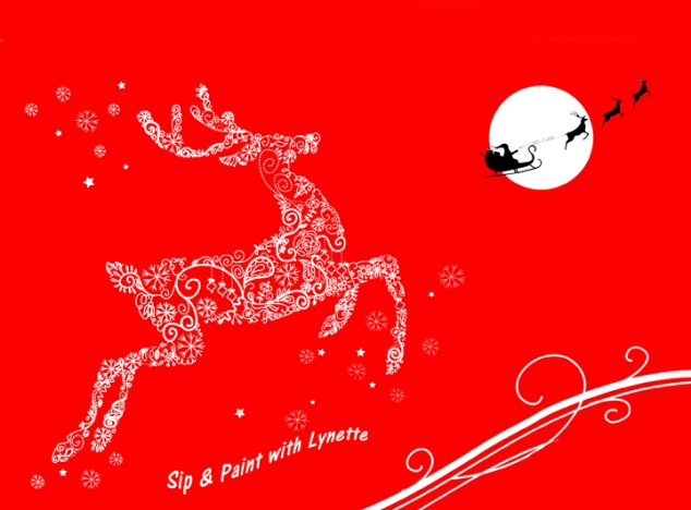 reindeer-on-red