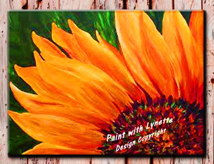 Sunflower 4 ways solo