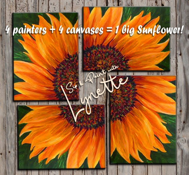 Sunflower 4 ways2